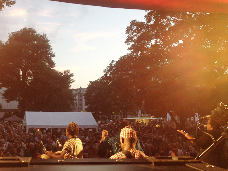 WDR Funkhaus Europa Tour 2015