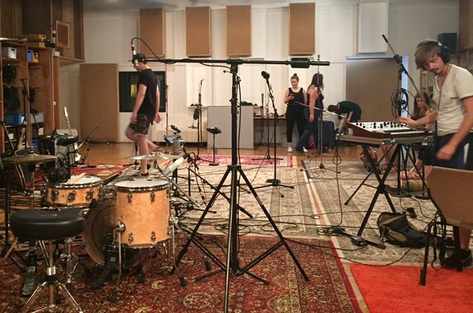 Popkurs Aufnahme mit Linda Rum