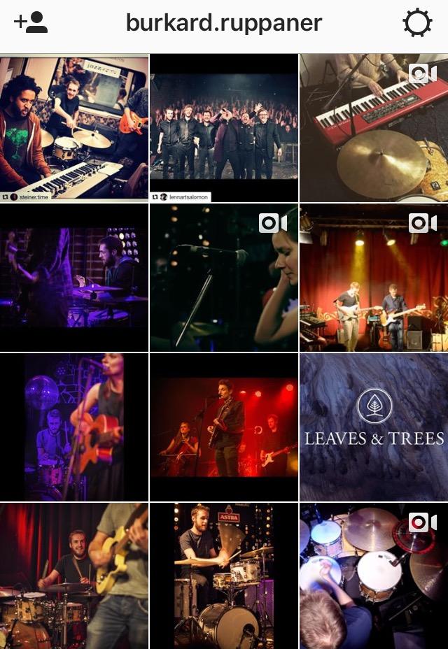 Burki goes Instagram!